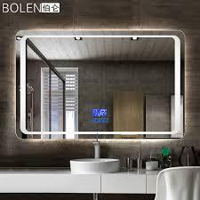Anti Mist Bathroom Mirror Usd 179 48 Bolen Hd Smart Led Bathroom Mirror Explosion Proof