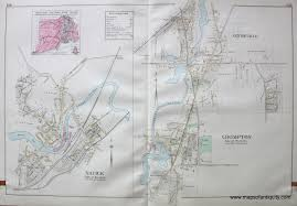 Warwick New York Map by Town Of Warwick Villages Of Crompton Centreville And Natick