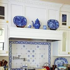 kitchen design ideas p blue backsplash beautiful kitchen