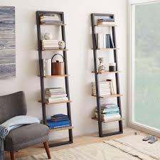 Narrow Bookcases Uk Ladder Shelving Narrow West Elm Uk