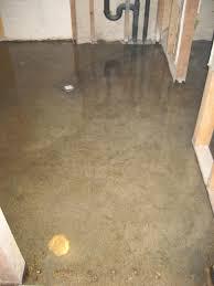 ideas insulate basement floor plastic subfloor for basement