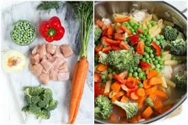 pasta recepies one pot creamy chicken and vegetable pasta recipe