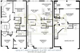3 story townhouse floor plans house rear elevation view for d 415 3 story townhouse plans 4