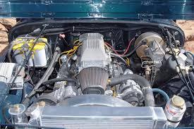 jeep wrangler v8 0807 4wd 02 z 1994 jeep wrangler yj chevy 383 v8 engine photo