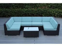 Sunbrella Patio Furniture Cushions Home Decor Sunbrella Patio Furniture With Mineral Blue
