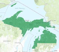A Map Of Michigan by Michigan U0027s 1st Congressional District Race Is A U0027toss Up