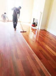 hardwood floor refinishing in island by gemini floor services