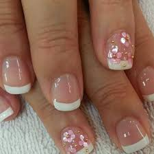 35 french manicure designs for short nails stylepics