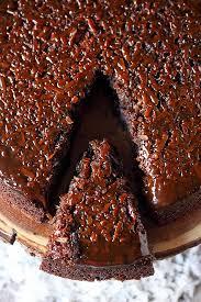 coconut caramel chocolate upside down cake mind over batter