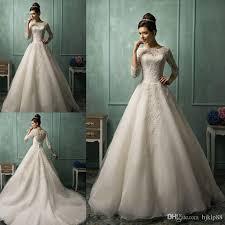 amelia sposa long sleeve wedding dresses for 2015 spring white