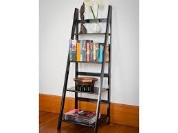 Ladder Bookcase by White Ladder Shelves Mocka Australia