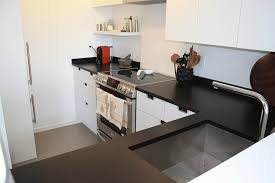Black Kitchen Countertops by Honed Black Quartz Countertops Honed Black Quartz Kitchen