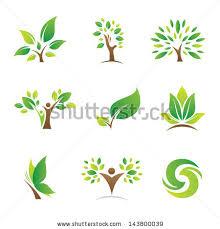 tree nature logo symbol icon stock vector 143800039
