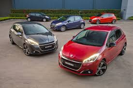 peugeot 208 red new 2016 peugeot 208 launches with two models under 20 000