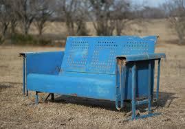 metal glider bench treenovation