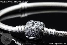 pandora style bracelet clasp images Pandora pav clasp bracelet jpg
