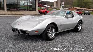 1976 silver corvette stingray for sale