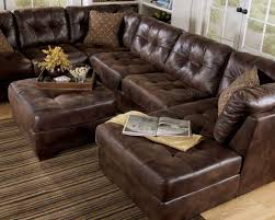 Sectional Sofa Leather Faux Leather Sectional Sofas Radiovannes