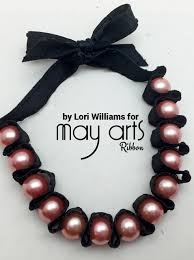 pearl ribbon how to make a ribbon and pearl bracelet snapguide