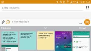 how to access clipboard on android galaxy note 4 how to view and delete clipboard contents