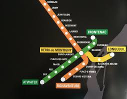 Metro Montreal Map by Josh Comeau On Twitter