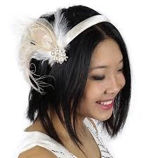 feather headband feather headband embellishment w peacock schlappen