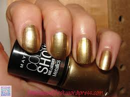 maybelline color bold gold the lil vovo effect