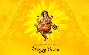 Ganpati Invitation Card In Marathi Happy Diwali Ganesha Hd Wallpaper Happy Diwali Hd Wallpapers