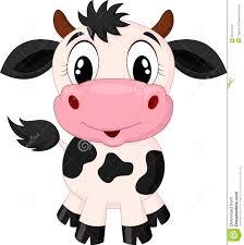 cute cow cartoon stock vector image 39167409