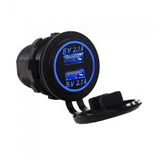 Usb Port Car Charger Eastor 4 2a 2 1a 2 1a Dual Usb Ports Car Charger Blue Light