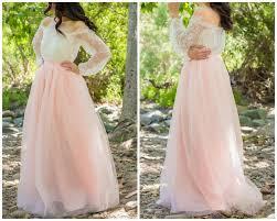 tulle skirt bridesmaid ready to ship blush pink skirt length floor length tulle