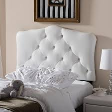 Modern White Headboard by Home Decorators Collection Montpelier White Twin Headboard 860vwht