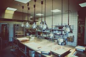 fine restaurant kitchen photography blurred dramatic of a motion