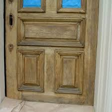 Refinish Exterior Door Entrance Door Restoration Tint Matching Repair And Finishing
