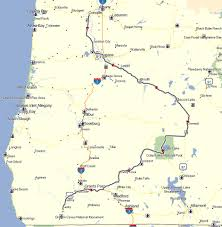 map of oregon near crater lake crater lake don moe s travel website