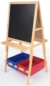 magnetic easel for toddlers easel for kids a frame chalkboard markerboard with baskets