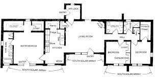 solar adobe house plan 1870 small adobe house floor plans