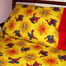 bedroom appealing spiderman room ideas with blue and red paint