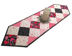 valentines day table runner 27 best s day decorating images on etsy