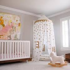 pink and gold nursery design ideas