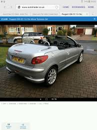 peugeot automatic for sale peugeot automatic convertible allure coupe 1 6 cc 12 in