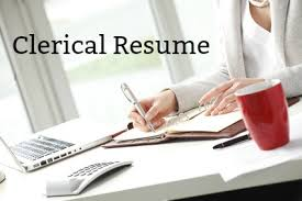 Clerical Resumes Sample Clerical Resume