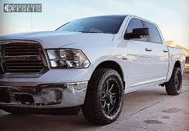 dodge ram 1500 wheels and tires wheel offset 2014 dodge ram 1500 slightly aggressive stock custom rims