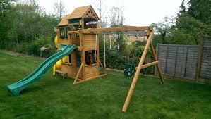 Lowes Swing Canopy Replacement by Outdoor Wonderful Cedar Summit Playset For Charming Kids
