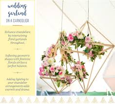 Decorating A Chandelier 15 Ways To Hang A Wedding Garland You Wish You Thought Of Ftd Com