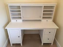 Ikea Hemnes Desk Grey Brown Ikea Hemnes Desk And Add On Unit In Grey Brown Posot Class