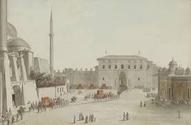 Ottoman Porte Vue Constantiopel 1789
