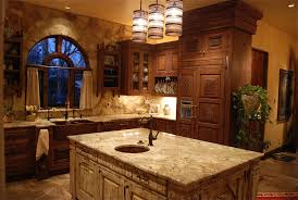 in vogue cedar wooden rustic kitchen cabinets with custom dome