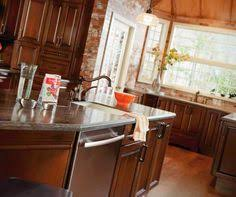 Dark Cherry Kitchen Cabinets Real Life Meets High Style With This Transitional Dark Cherry