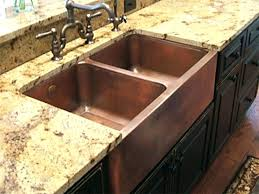 Kitchen Sinks Ebay Hammered Copper Farmhouse Kitchen Sinks Gray Island Apron